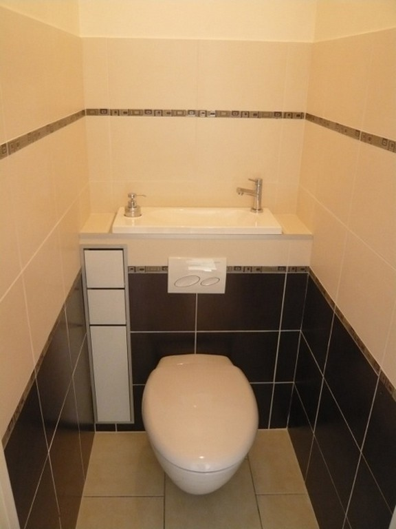 Wall Mounted Wc With Integrated Hand Wash Basin Wici Boxi Mr C France