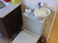 WiCi Mini, small sink for toilets - Schmerber showroom (25) - 1 of 4
