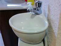 WiCi Mini, small sink for toilets - Schmerber showroom (25) - 3 of 4