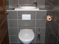 ... Wall Mounted Toilets With Built In Sink WiCi Boxi   Mr B (France