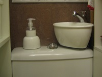 WiCi Mini small hand wash basin adaptable on existing toilets - Mr P (France - 64) - 4 of 4
