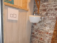 WiCi Mini Small Hand wash basin with wall-mounted toilets - Mr and Ms B (France - 64) - Mr and Ms B - 3 of 4 (after)