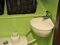 Wall-standing WiCi Mini, toilet and small sink combination - Mr and Ms C (France - 69) - 3 of 3