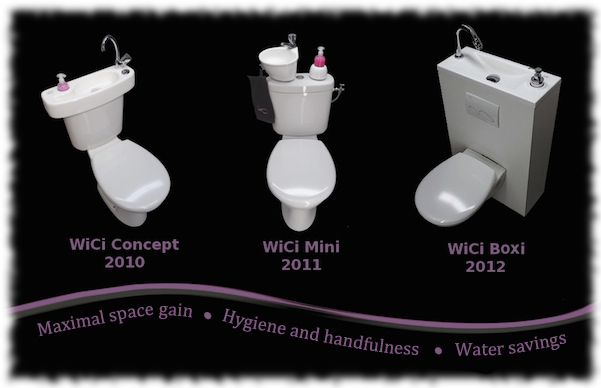Save Water With Wici Concept Hand Wash Basins