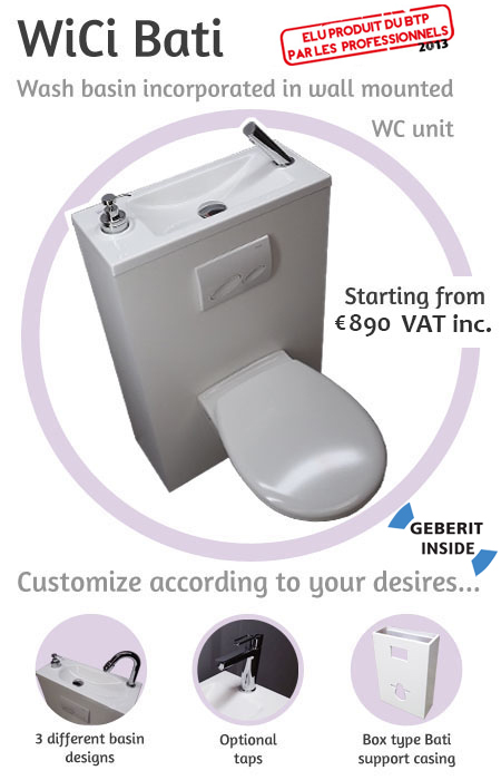 Wici Concept Toilets With Basin